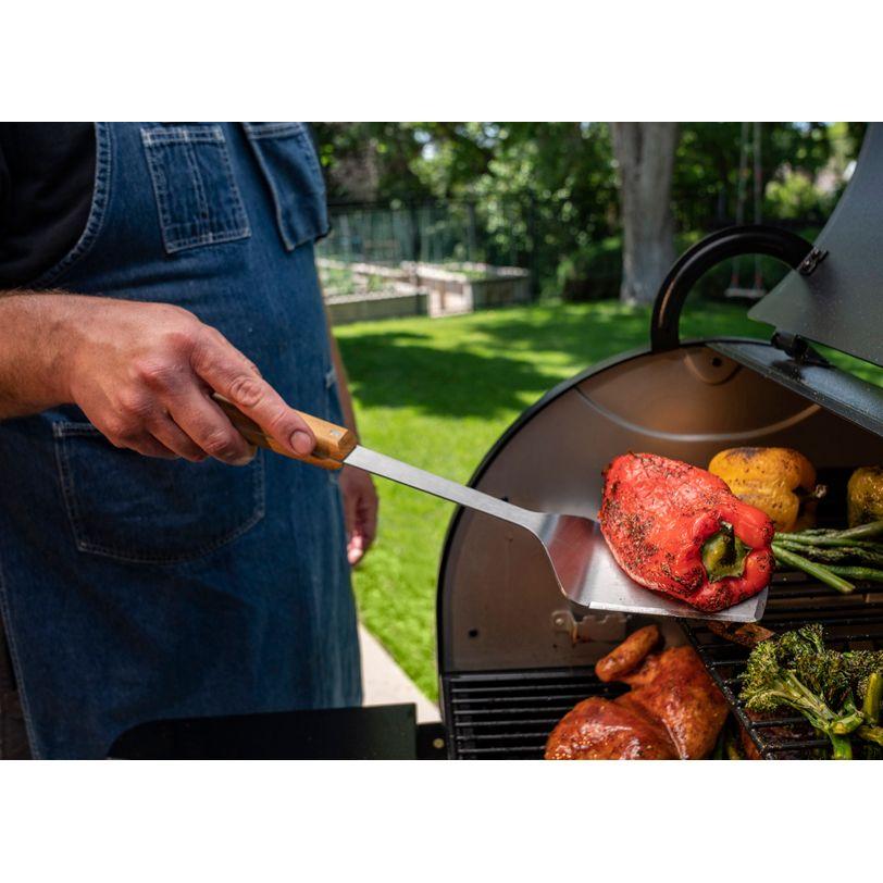 Spatola in acciaio per griglia BBQ Traeger