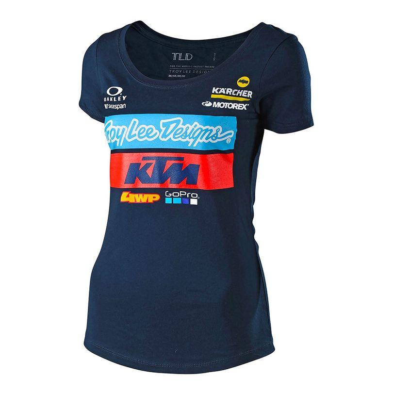 T-shirt TLD KTM Team per donna