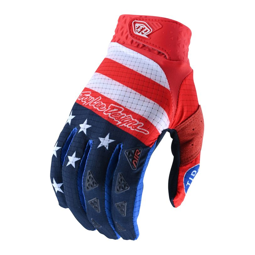 TLD Air Stars&Stripes gloves light and ultra-breathable