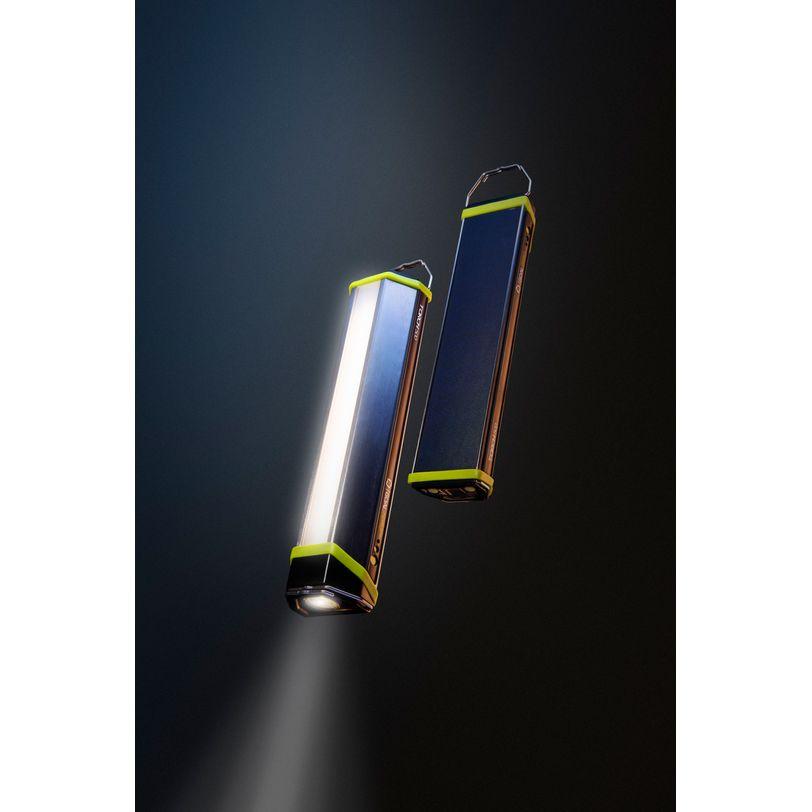 Torcia Ricaricabile Torch 500 e power bank da 5200 mAh con pannello solare integrato
