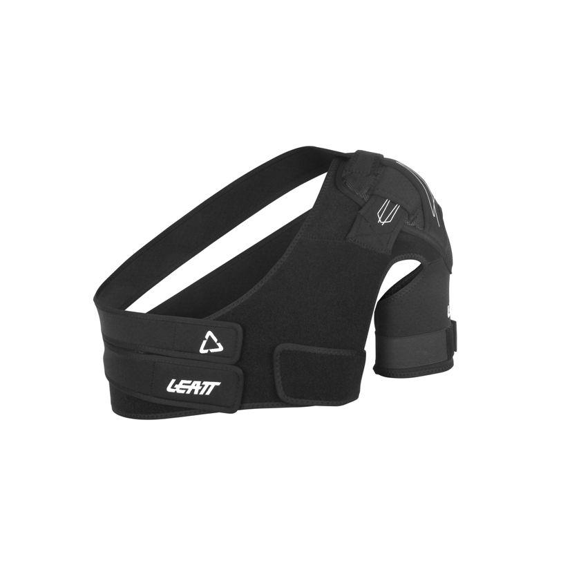 Tutore per spalla con fasce di regolazione e tessuto traspirante per spalla sinistra