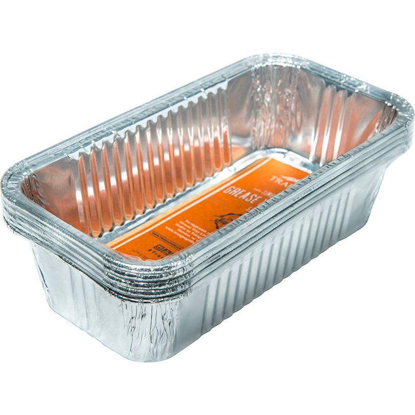 Vaschetta raccogligrasso in alluminio per BBQ Traeger Timberline 5 pz
