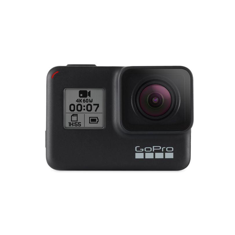Videocamera GoPro HERO7 Black + SD CARD e Action Cam 4K per video incredibilmente fluidi