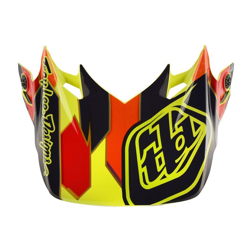 Visiera di ricambio Visor Maze per caschi Motocross SE4 Composite
